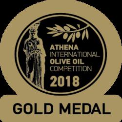 Medalla de Oro – Athena IOOC (Grecia)