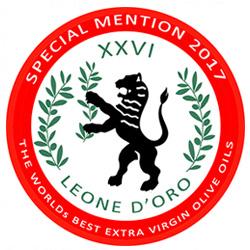 Grand Menzione Leone D'Oro Dei Mastri Oleari (Italia)
