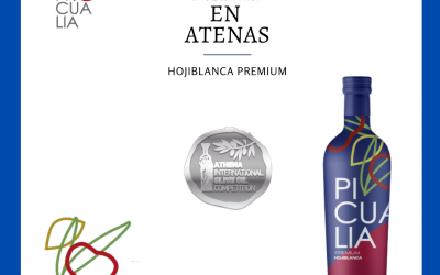 EL HOJIBLANCA PREMIUM MEDALLA DE PLATA EN ATENAS 2020