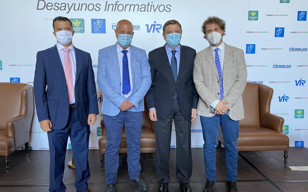 PICUALIA PARTICIPA EN EL DESAYUNO INFORMATIVO DE EUROPA PRESS CON EL MINISTRO DE AGRICULTURA LUIS PLANAS