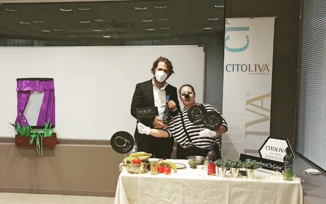 Picualia, La Caixa y Citoliva celebran la primera «cata mimo» dirigida a personas con discapacidad