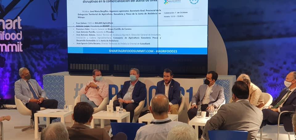 Picualia participa en el Congreso Smart Agrifood Summit celebrado en Málaga