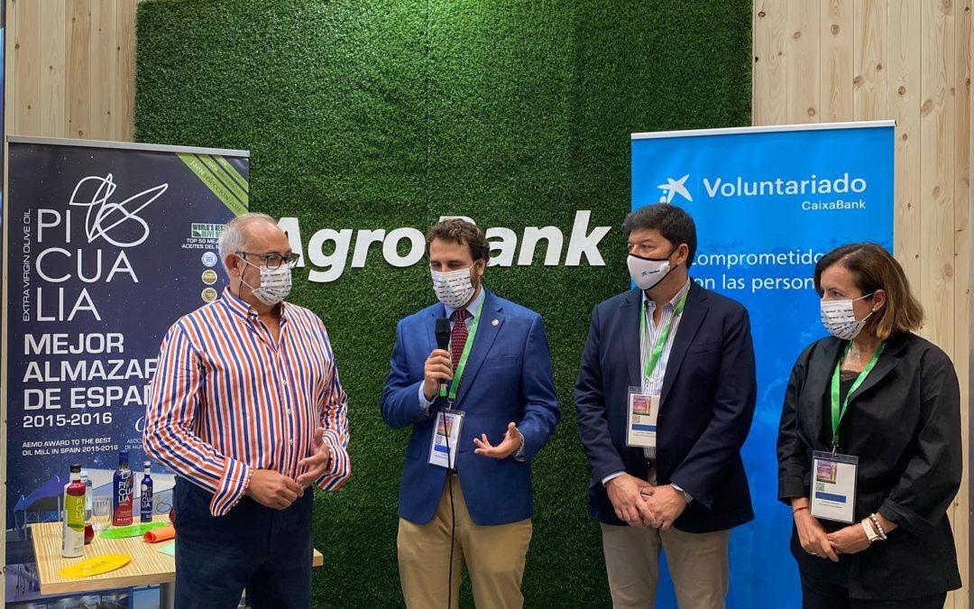Cata mimo de Picualia con Agrobank La Caixa en Expoliva 2021