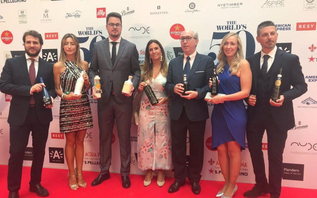 Picualia participa con Jaén Selección en la Gala de The Worlds 50 Best Restaurants 2021